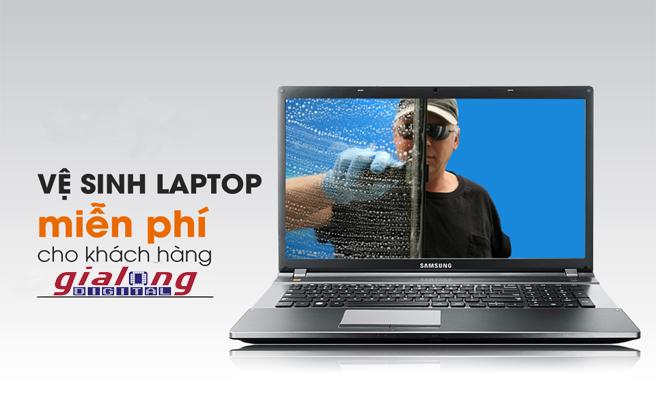 Vệ sinh PC & Laptop miễn phí cho khách hàng tại Gia Long Digital